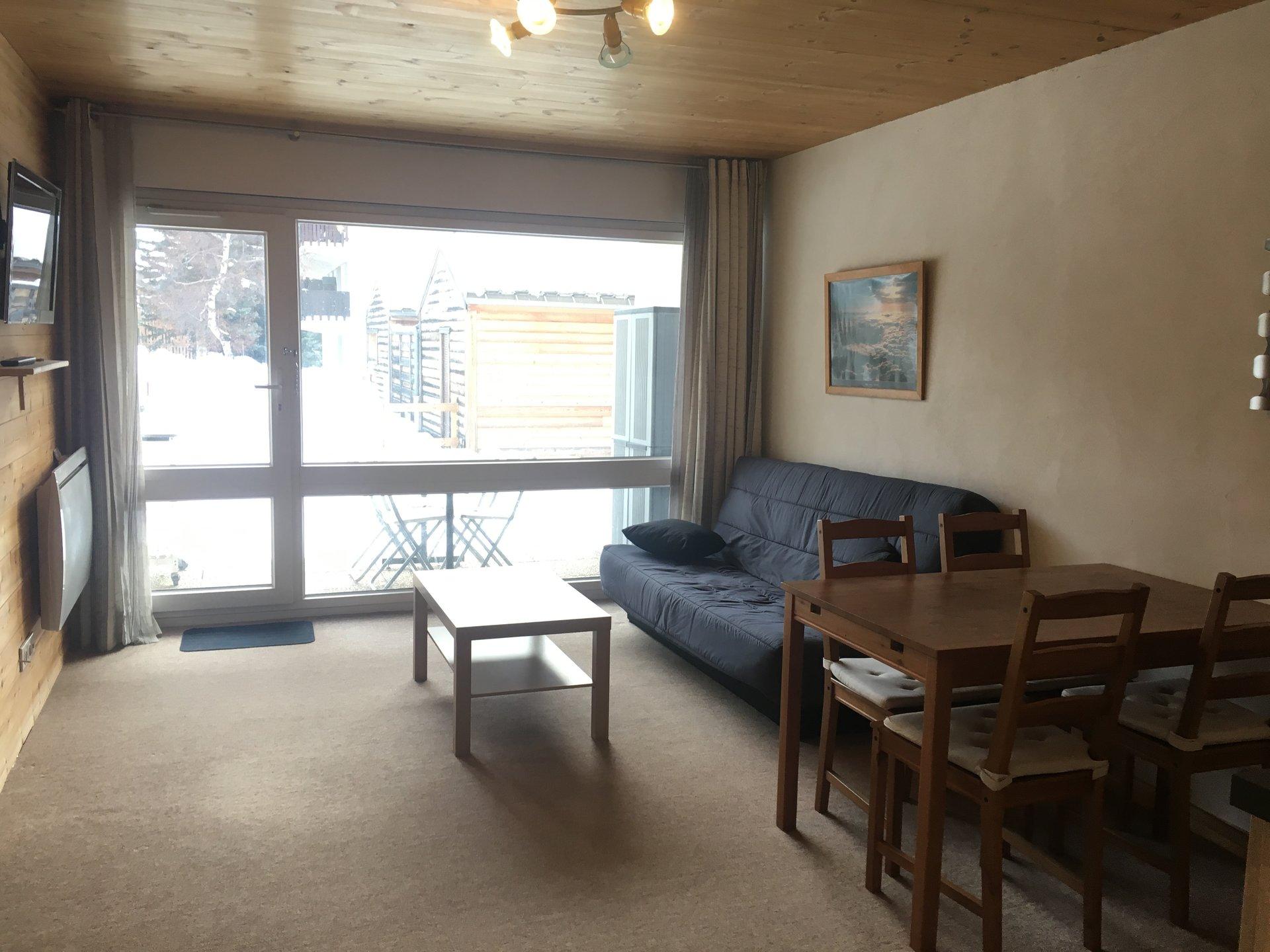 Appartement T3 sur front de neige centre station