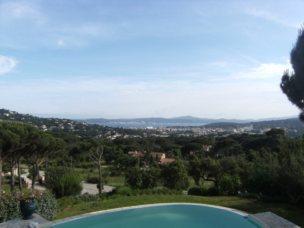 Villa with panoramic view over the gulf of Saint-Tropez