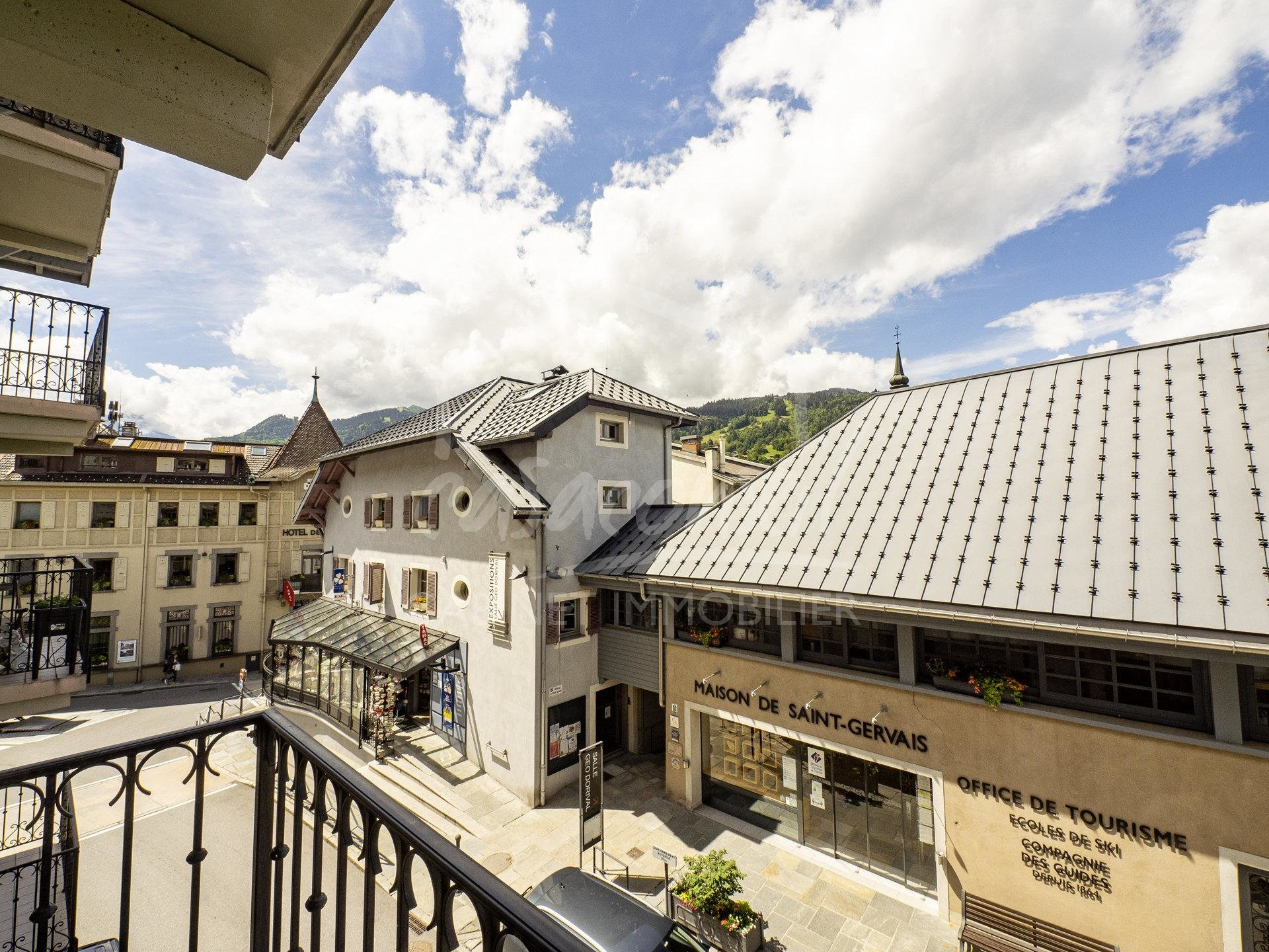 St Gervais Mt Blanc - 3 rooms in the heart of the village