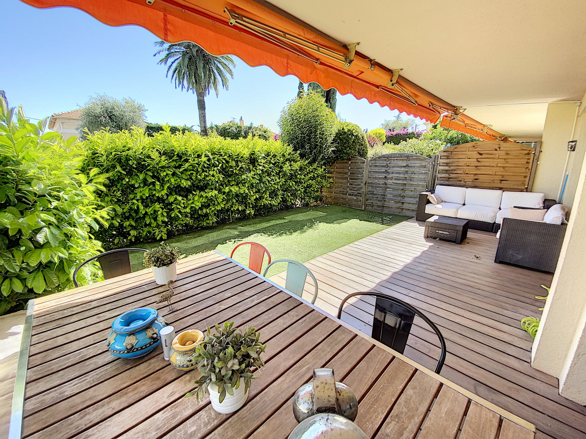 Le CANNET - Nice 4 rooms with garden. Quiet area