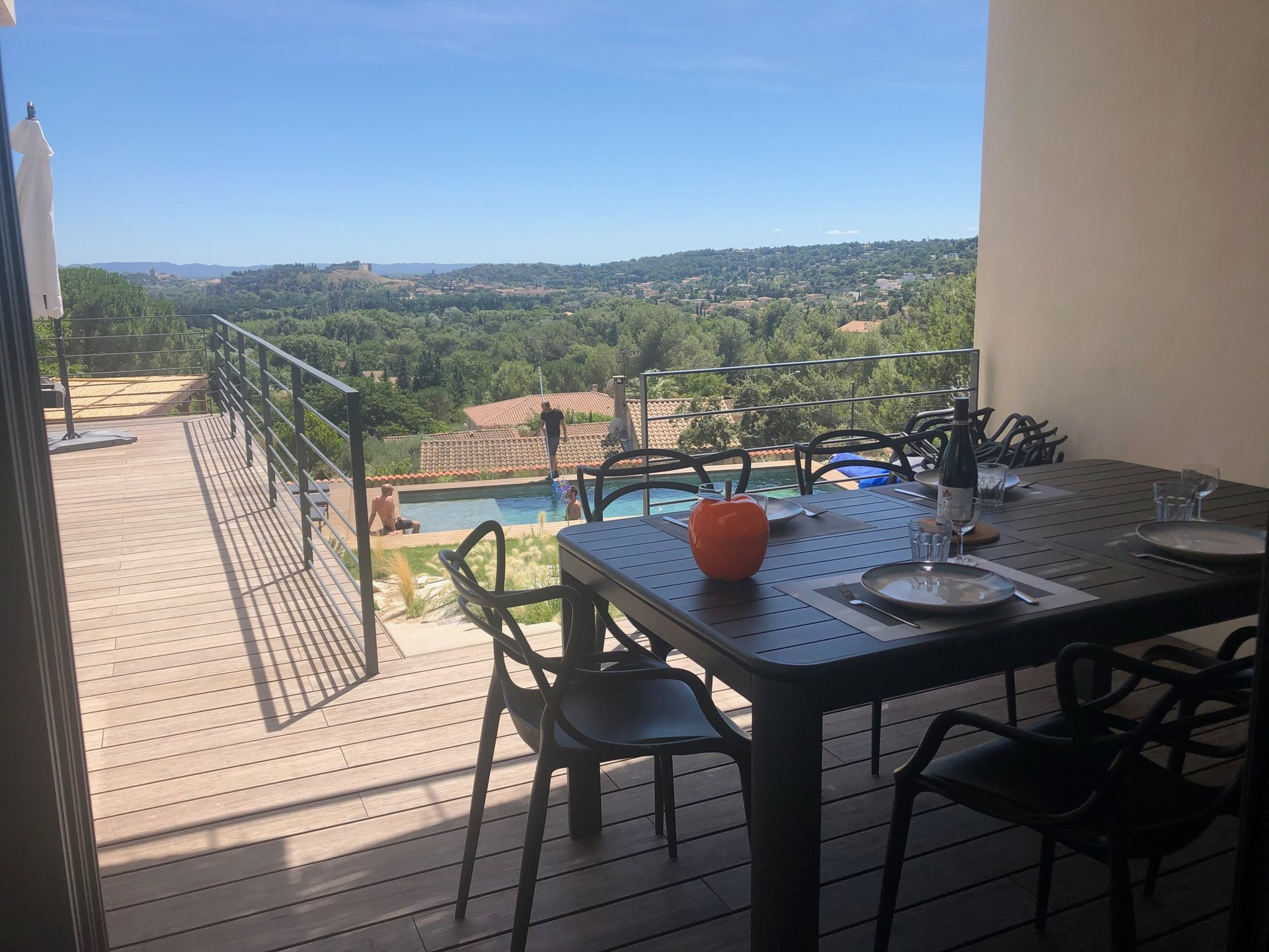maison contemporaine vue panoramique