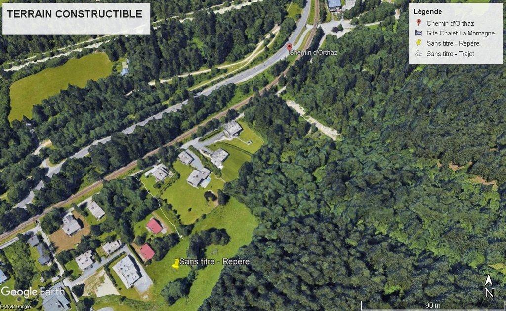 Vendita Terreno edificabile - Chamonix-Mont-Blanc
