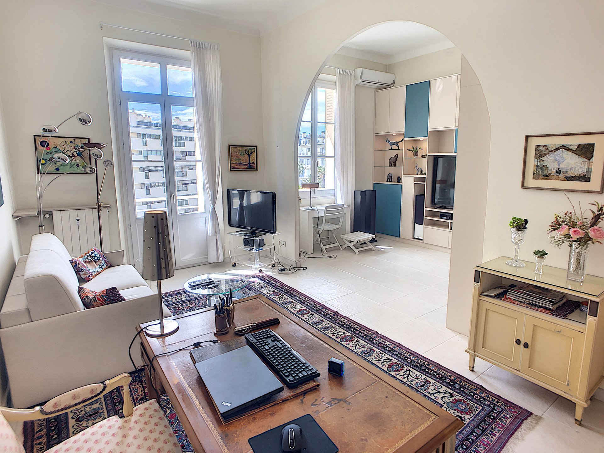 Cannes Montfleury 1/2 bedroom Historical Gallia