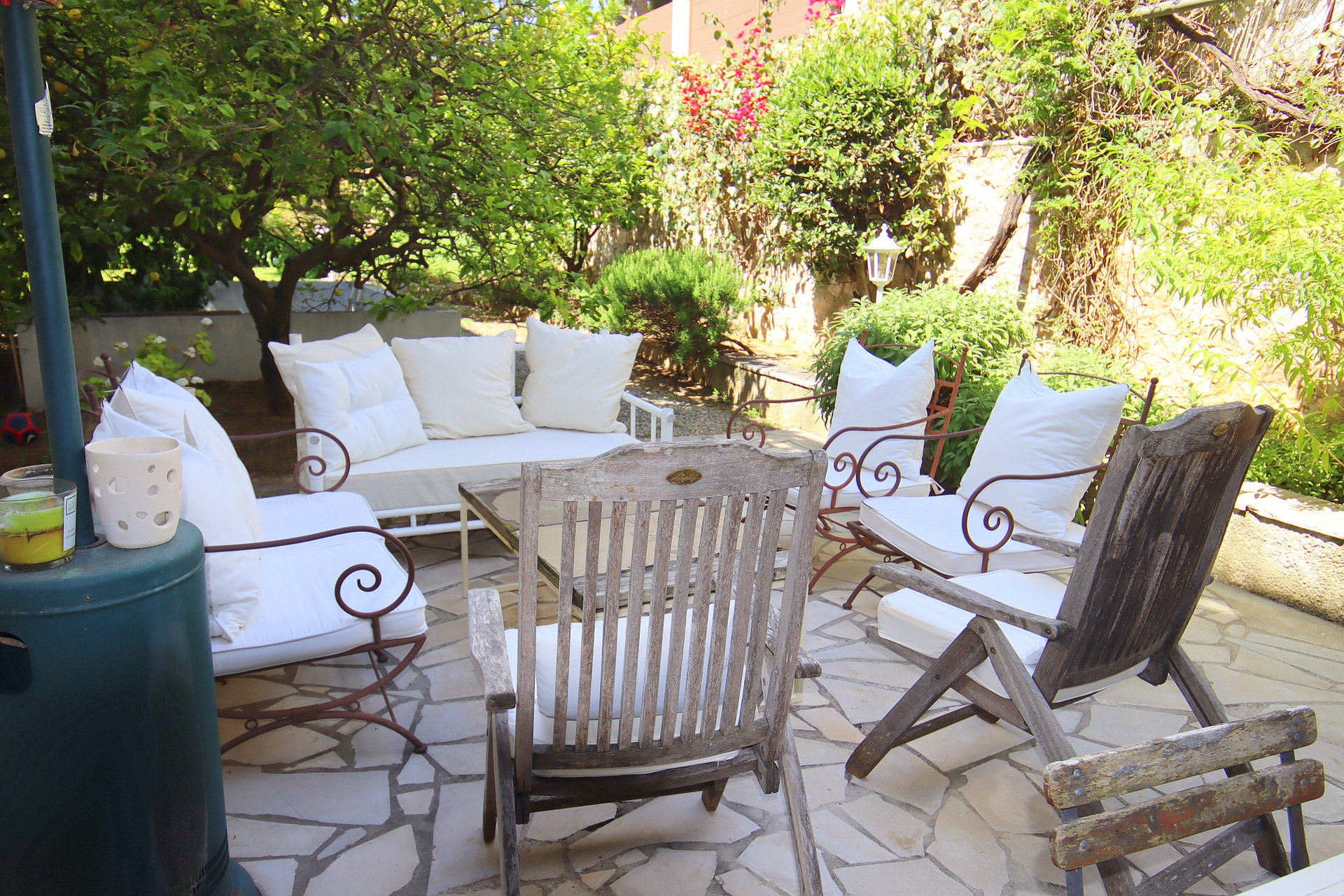 Beaulieur sur mer villa Belle Epoque jardin