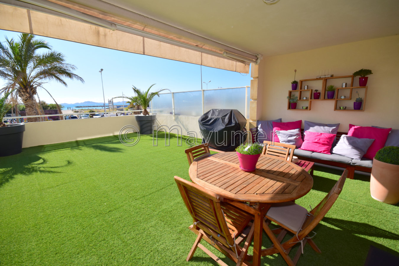 Villa Duplex avec Terrasses & Box double Borely Marseille 13008