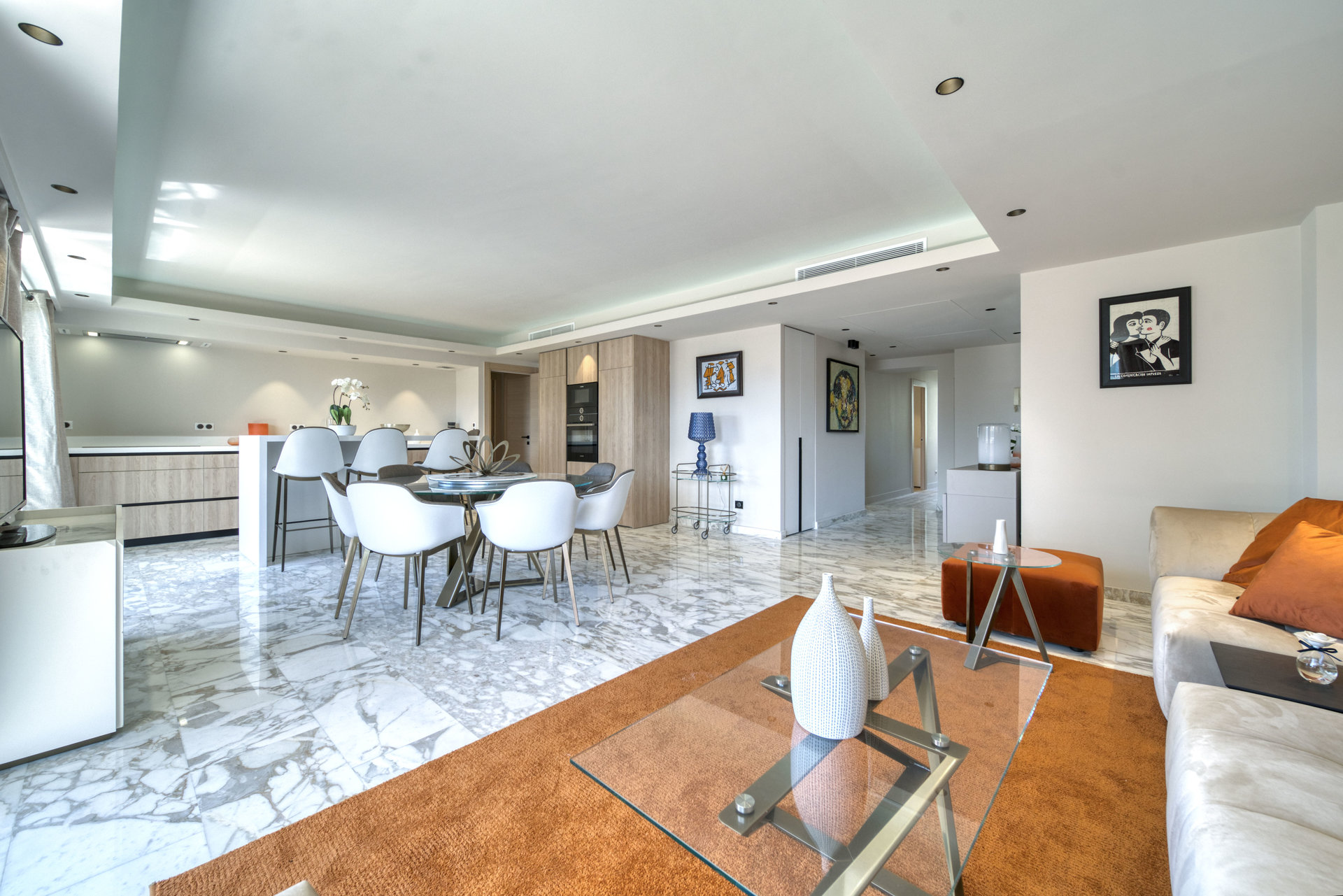 BEAUTIFUL RENOVATED APARTMENT WITH A TERRACE OF 165 SQM