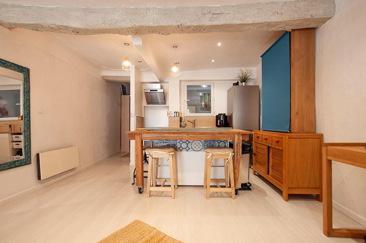 For sale Le Bar-sur-Loup - renovated village house, 3 bedrooms