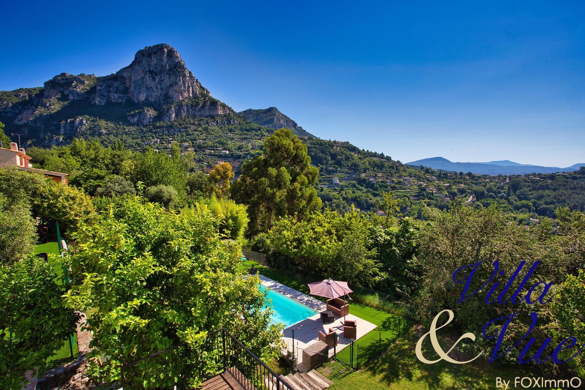 Casa indipendente in vendita in 2 appartamenti, Vence, bellissima vista mare e montagna