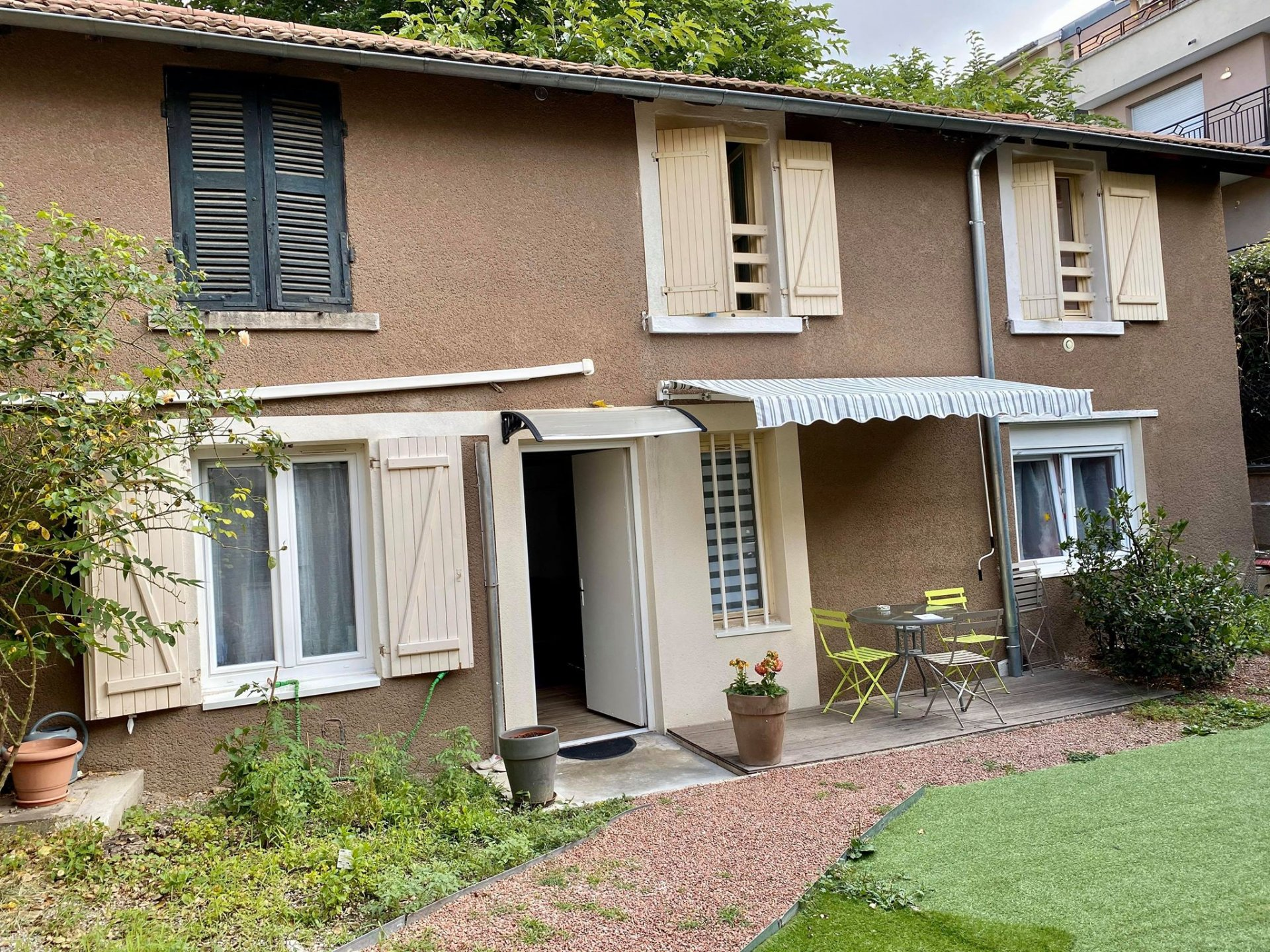 Maison de village T4 de 60m² avec un jardin de 30m²