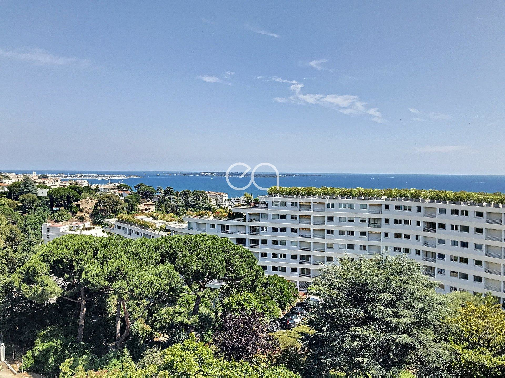 CANNES FOR SALE 3/4 ROOMS 78 SQM WITH TERRACE AND SEA VIEW