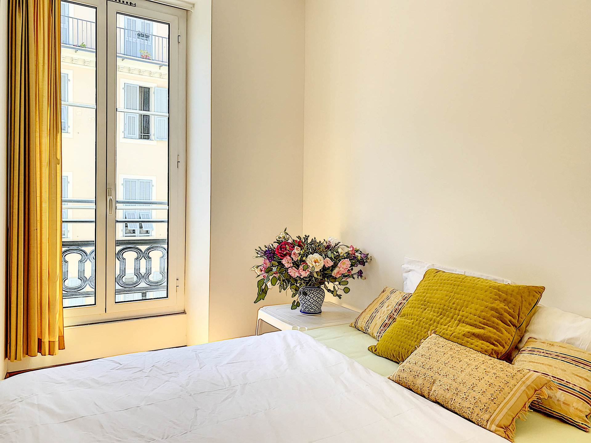 SALE Apartment 3 Rooms Nice Centre-Ville Gioffredo Balconies View!
