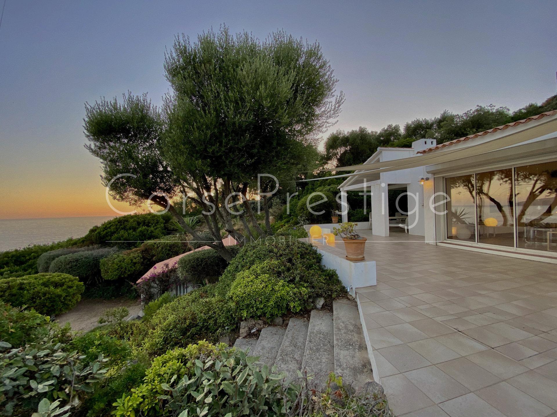 charming villa - bay of ajaccio - la castagna image1