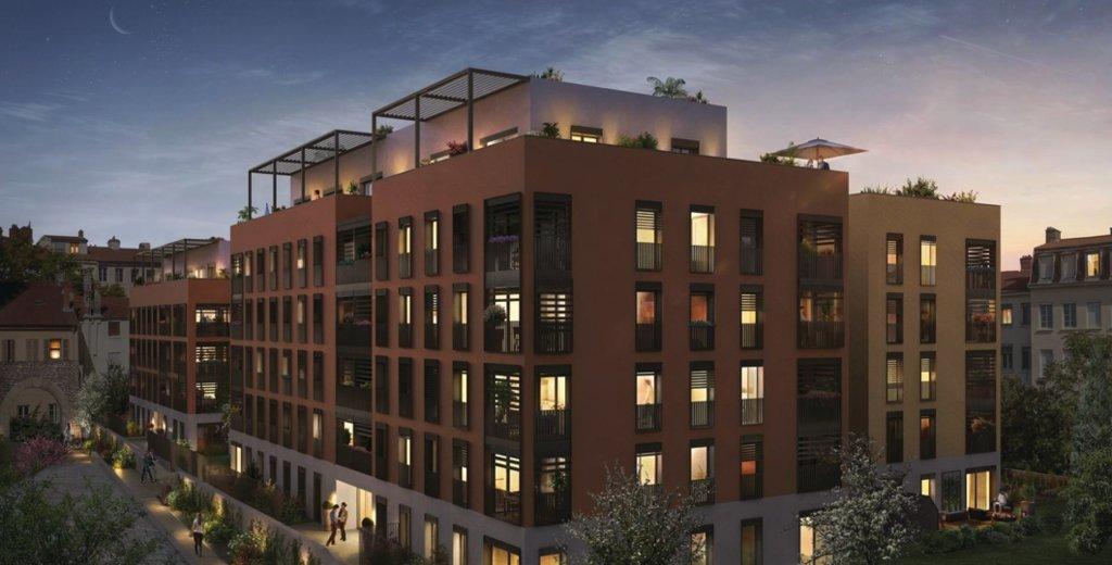 Croix Rousse, appartement d'exception avec Loggia