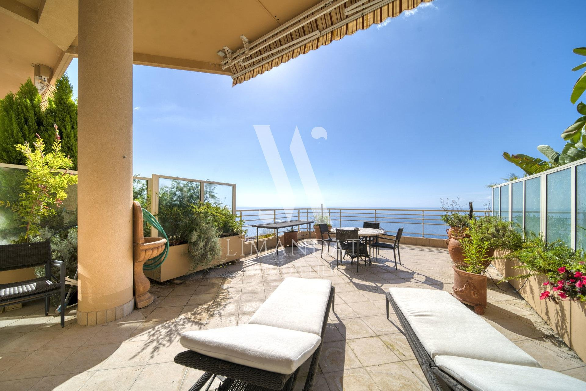 Magnificent 2 bedroom duplex apartment with sea view 145m2, 58m2 terrace