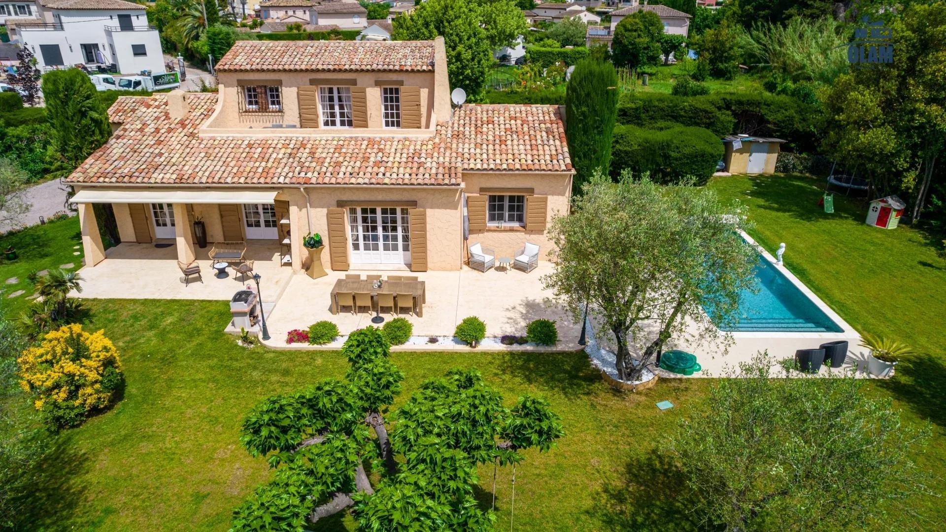 Seasonal rental House - La Roquette-sur-Siagne
