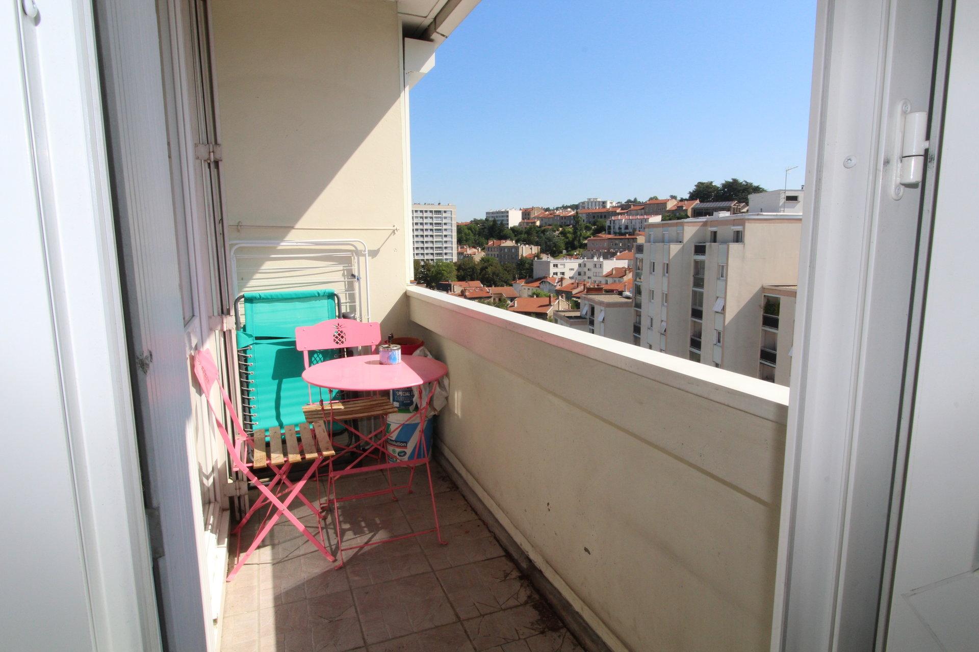 Appartement Saint-Etienne / Centre deux T4 80m2 avec balcon et parking