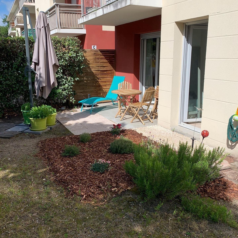Appartement 3 pièces 53 m² avec Jardin de 60 m²