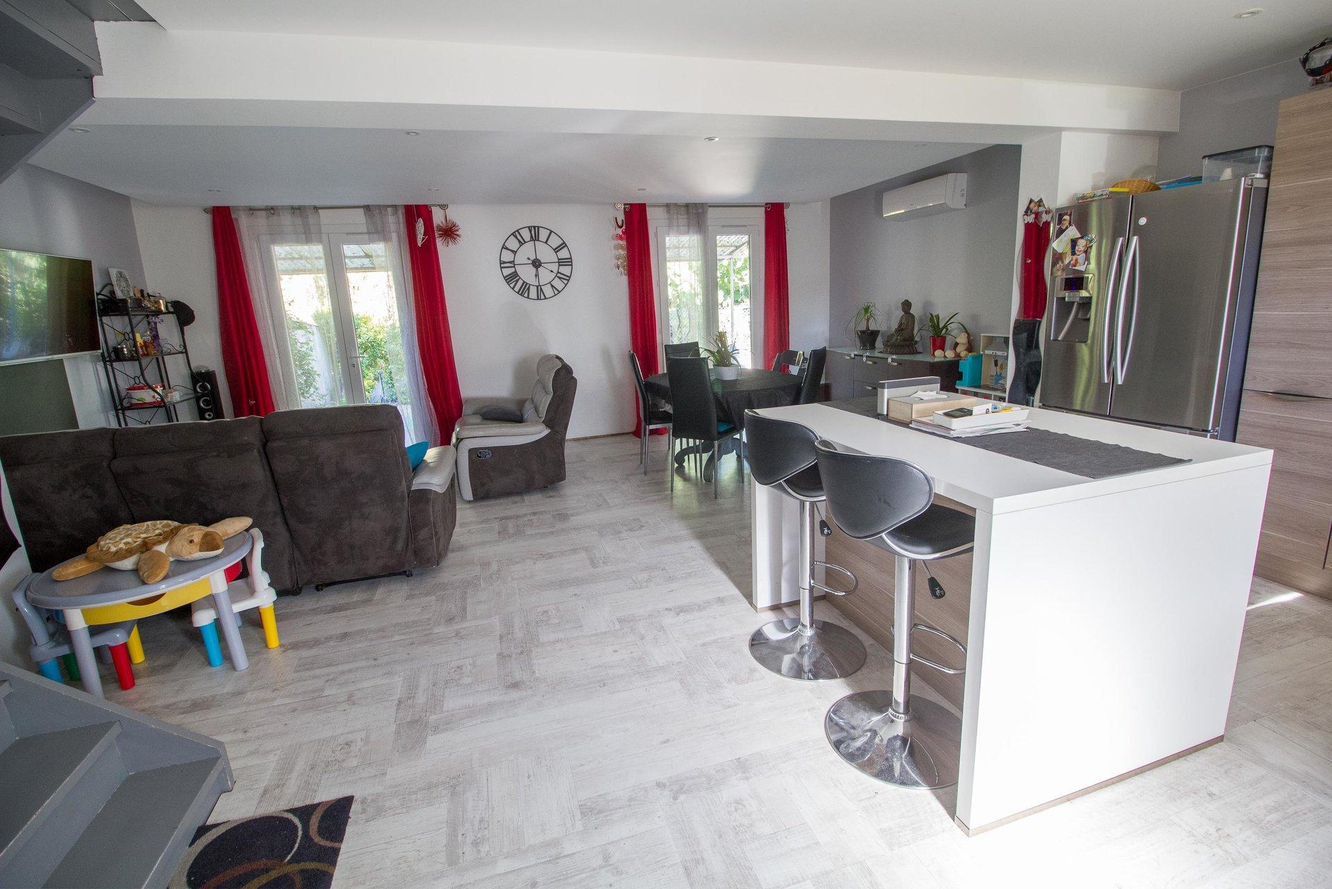 Pont-de-Crau  - Maison de 90 m² avec jardin