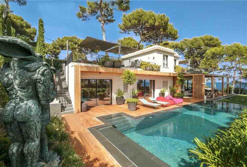 Sale villa Cap d'Antibes - sea view