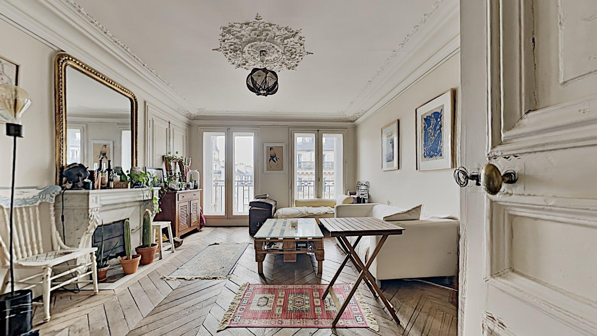 Appartement 5 pièces au coeur de Paris, quartier Saint Gervais