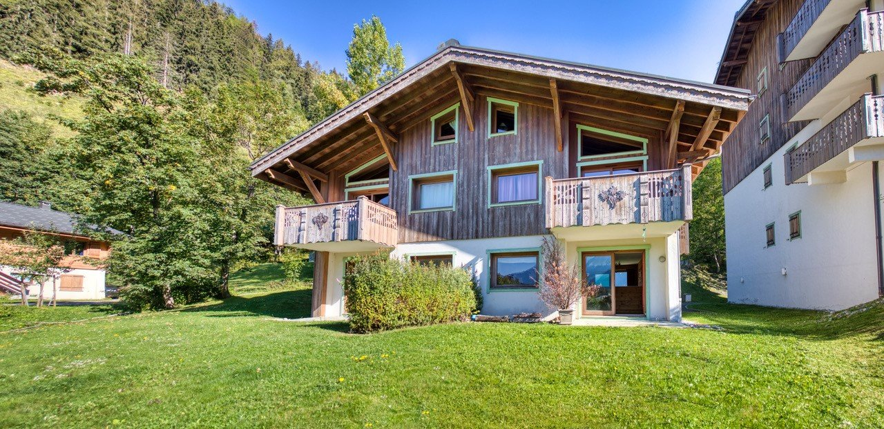 3 BEDROOMS APARTMENT WITH GARDEN - MONT-BLANC VIEW