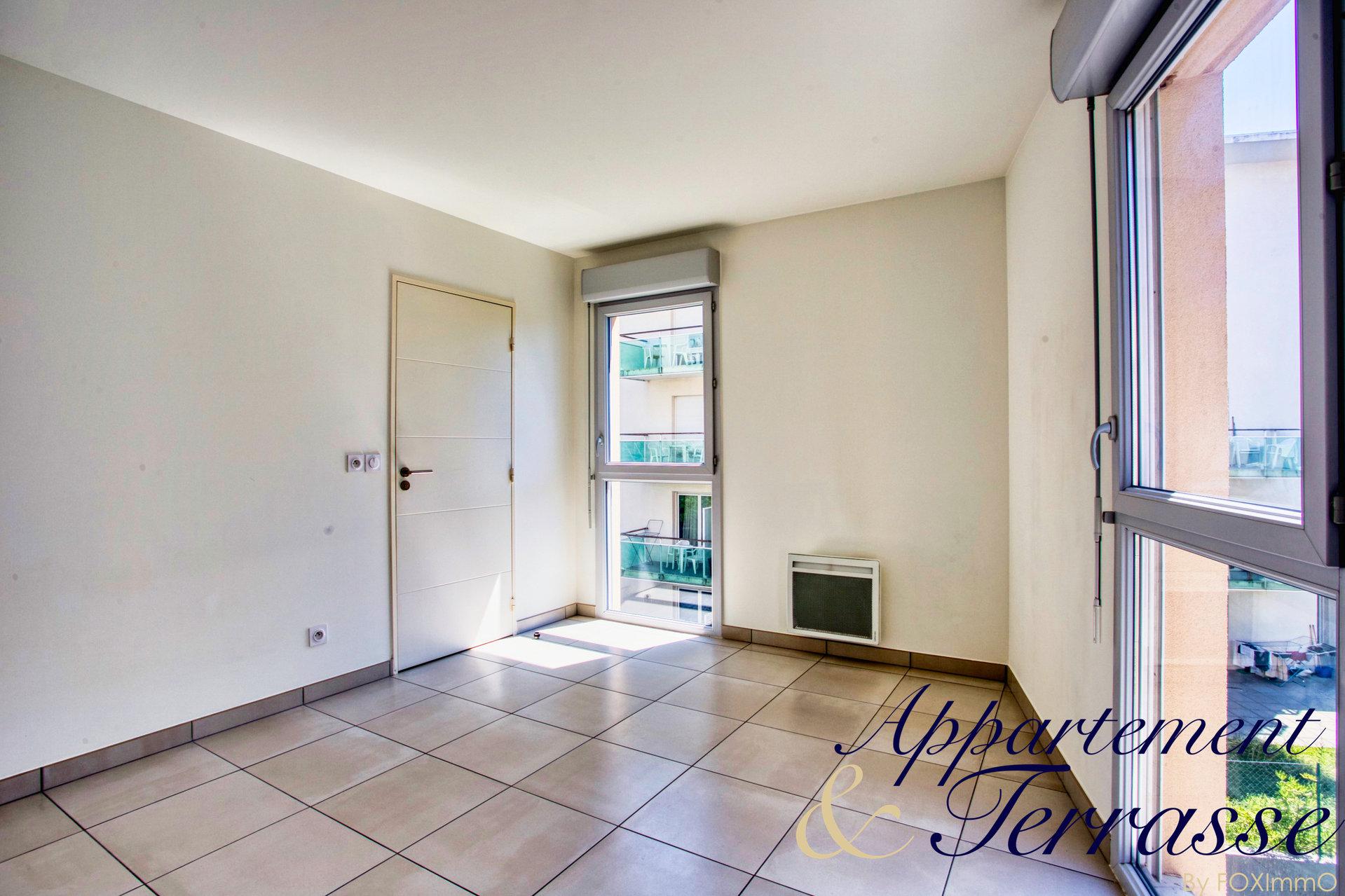 Appartement 2P 41 m² avec terrasse au sud et garage