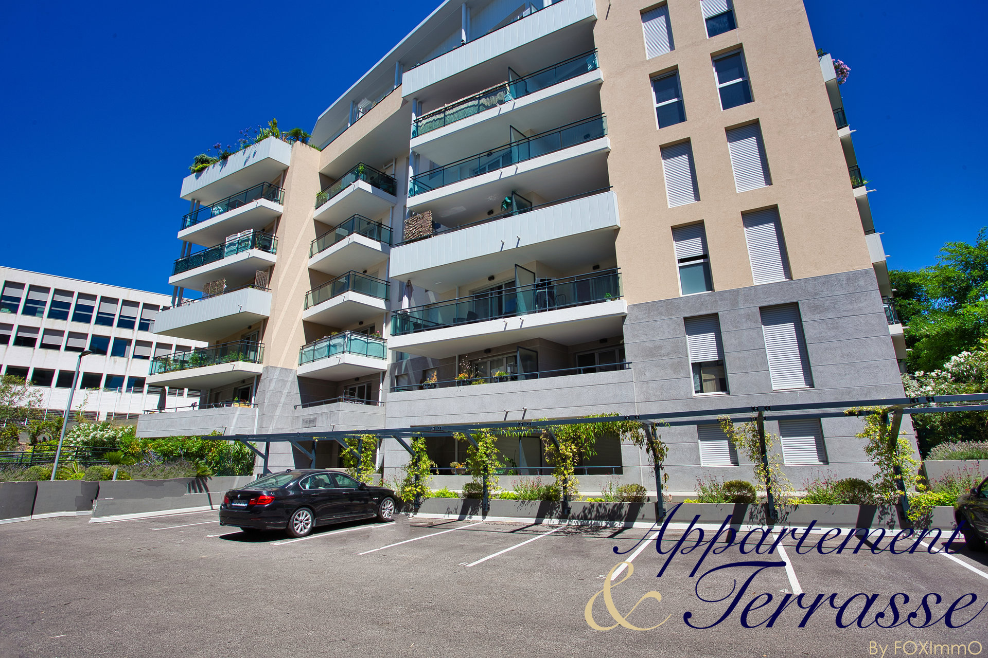 Apartment 2P 41 m² with south facing terrace and garage