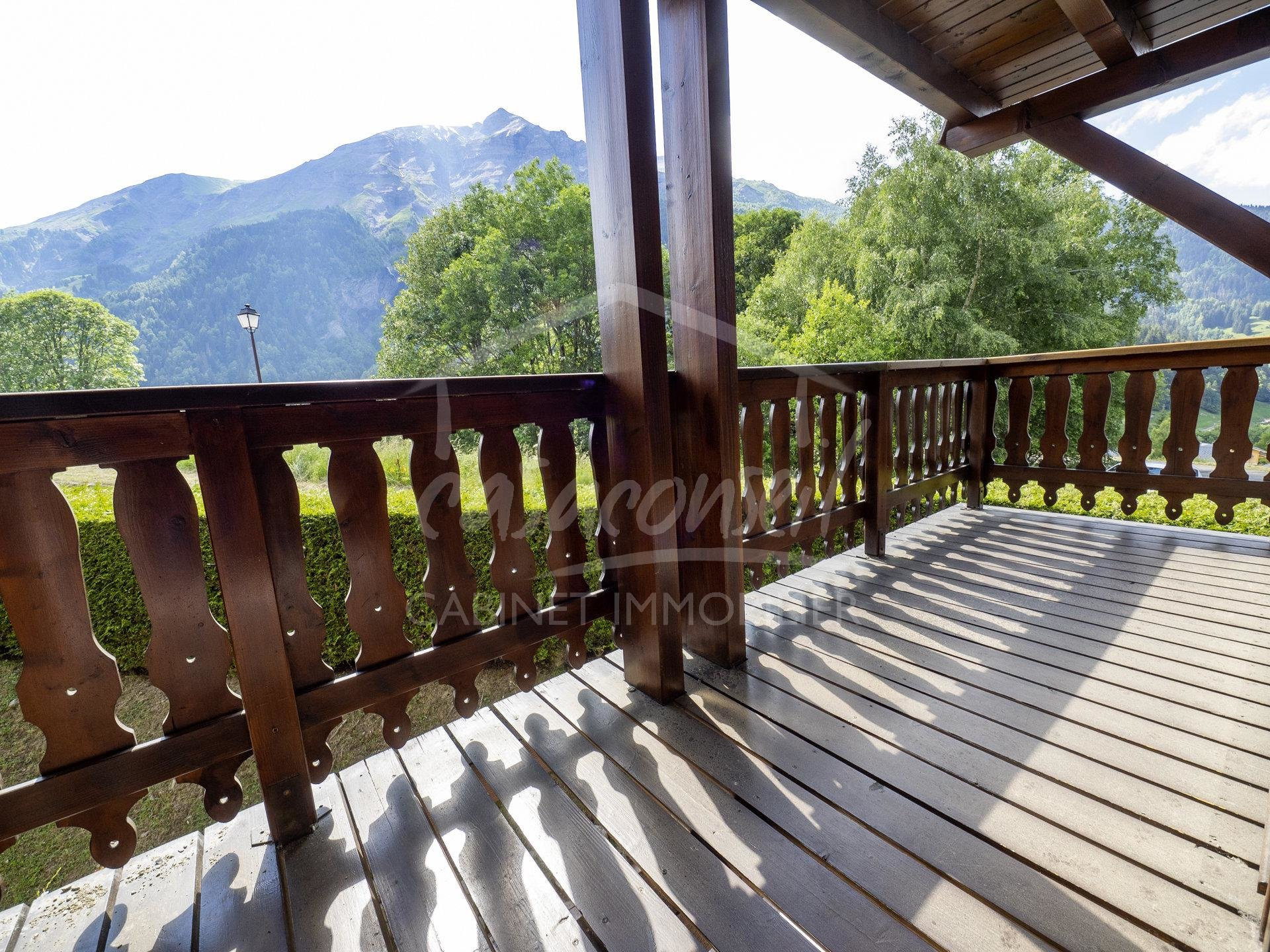 LES CONTAMINES MONTJOIE - 1 bedroom + bunks  - Quiet and sunny