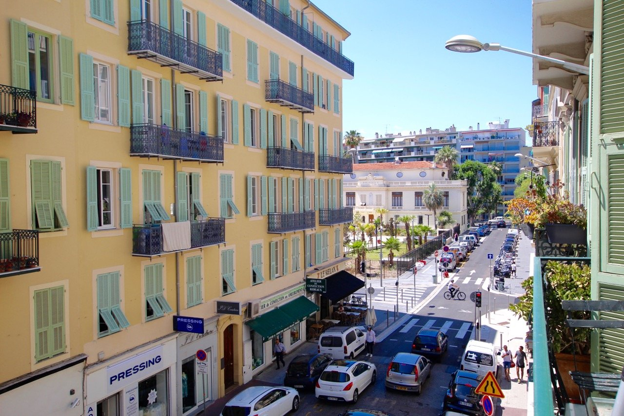 Nice Hyper city centre - Large bourgeois flat balconies