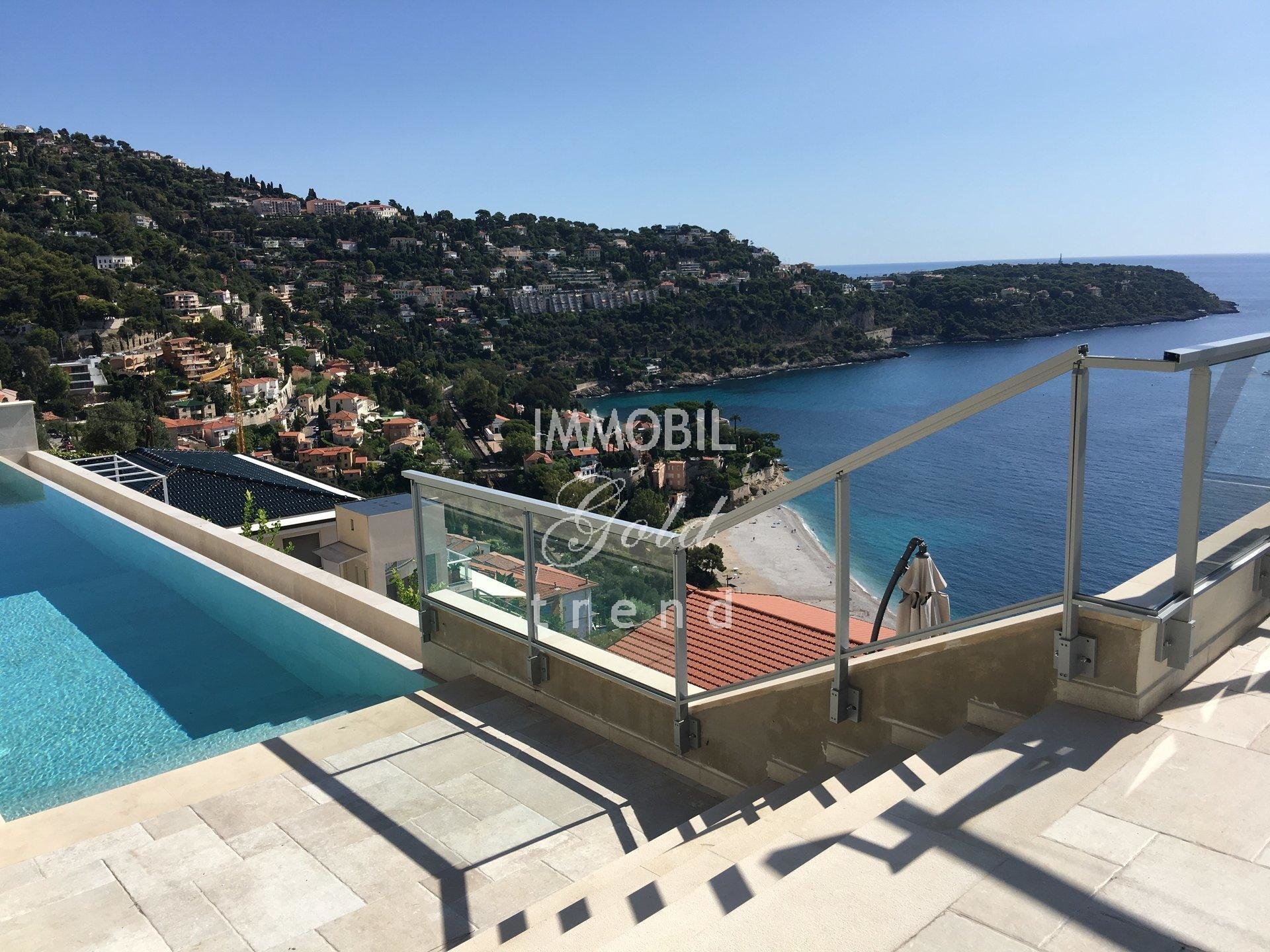 Real estate Roquebrune Cap Martin - For sale, villa composed of four apartments, with swimming pool and panoramic sea view, close to Monaco