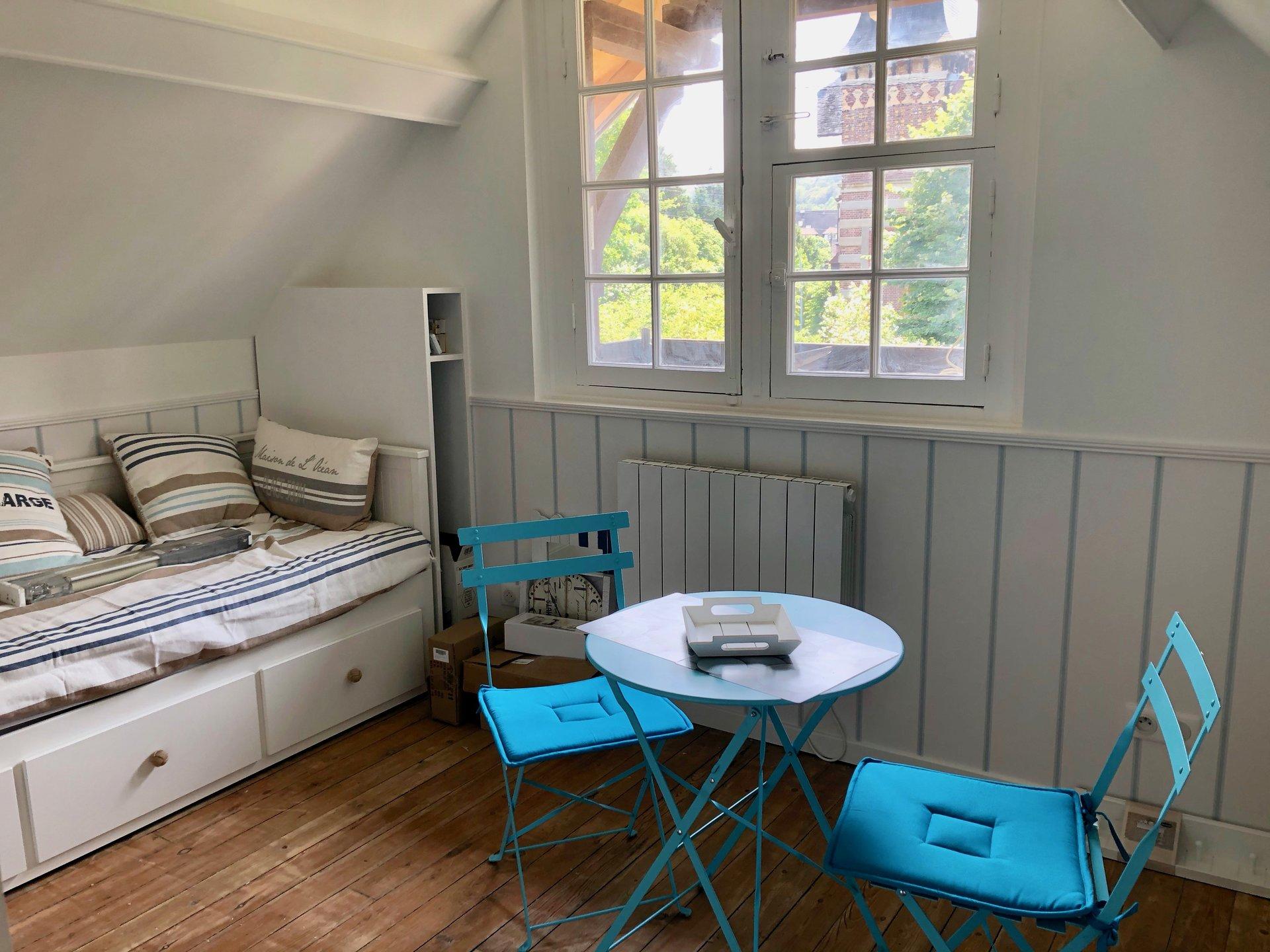 Studio meublé en centre ville de Houlgate