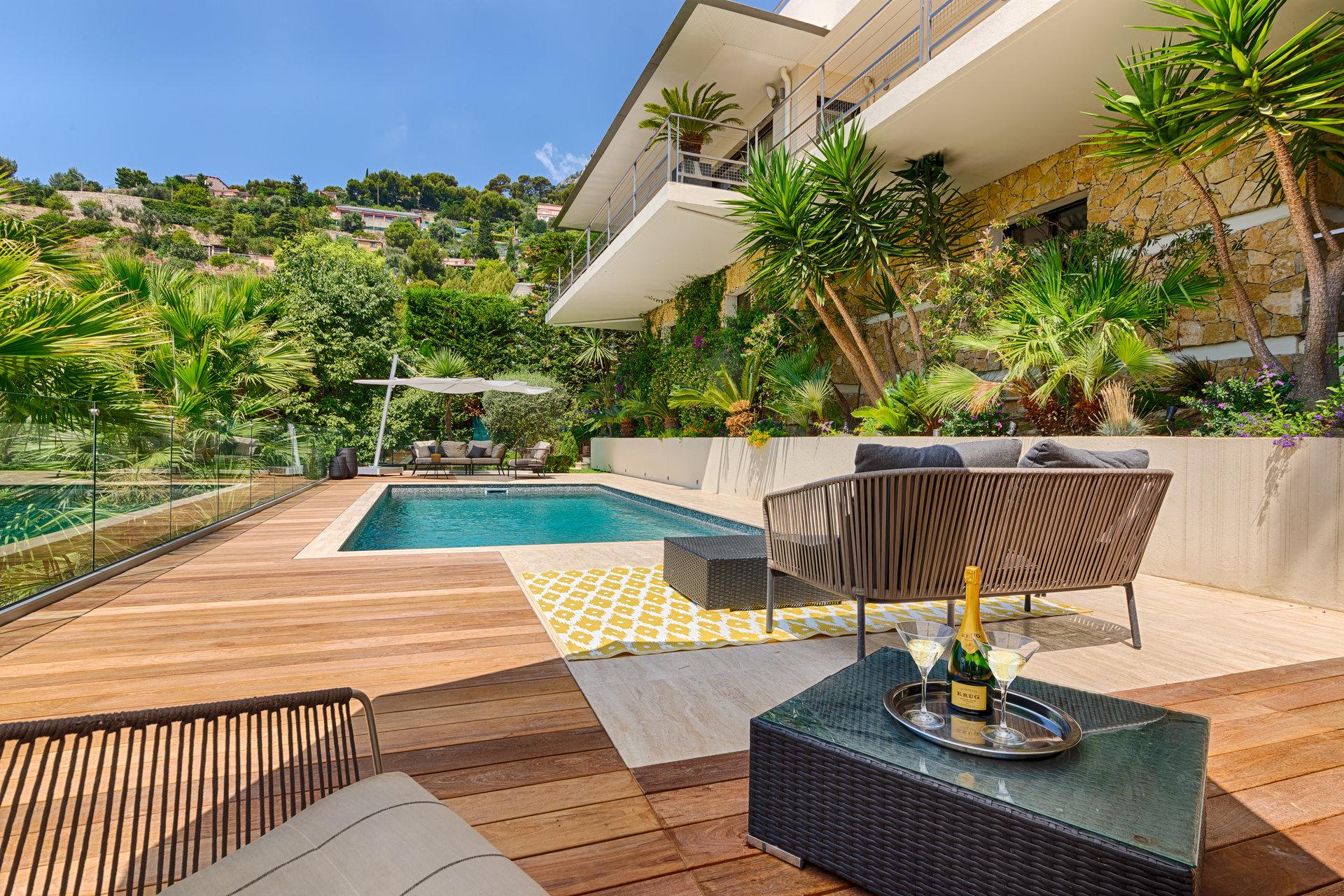 Superbe villa contemporaine - Eze