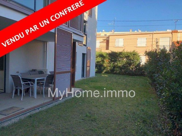 superbe appartement ouvert sur terrasse et jardin