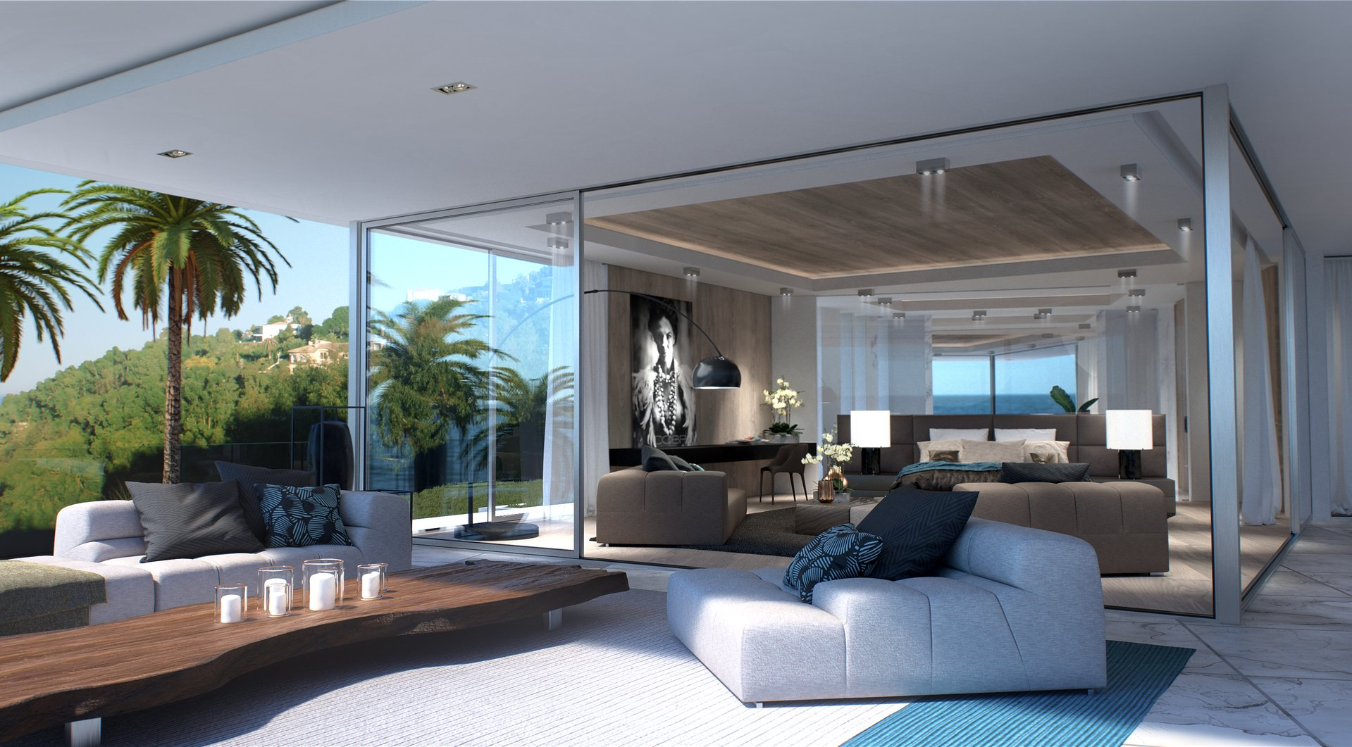 SUPER-CANNES - ULTRA CONTEMPORARY STYLE VILLA