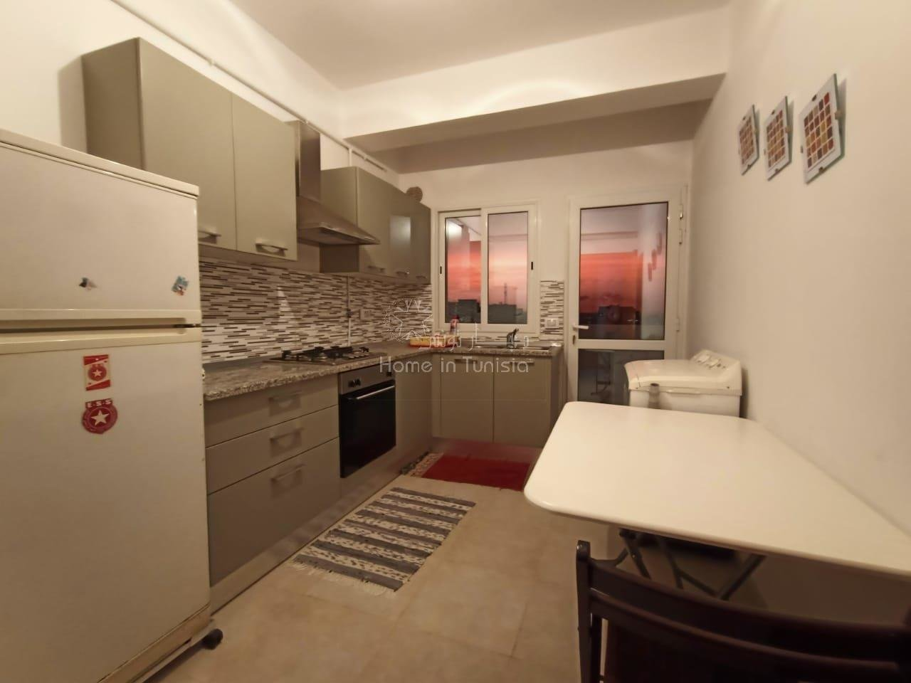 location annuelle d'un appartement S+2