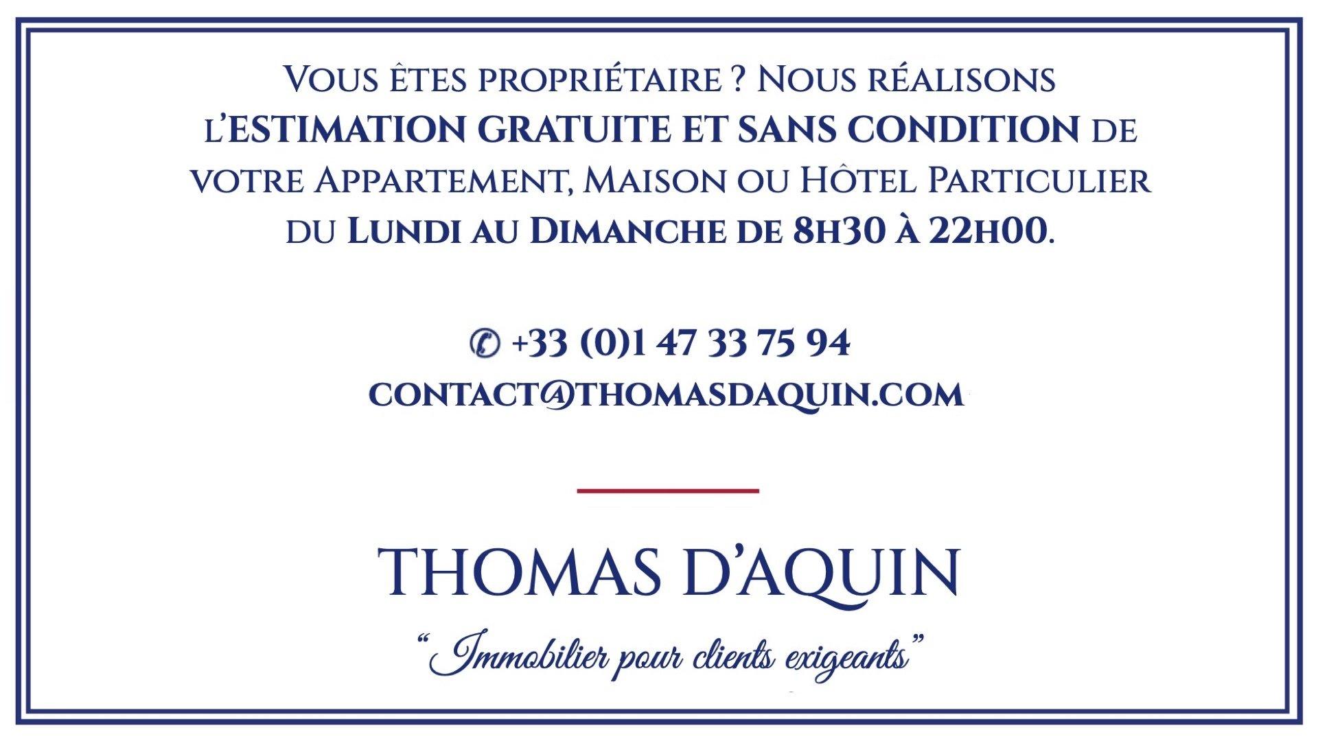 SAINT THOMAS D'AQUIN - CARRÉ RIVE GAUCHE