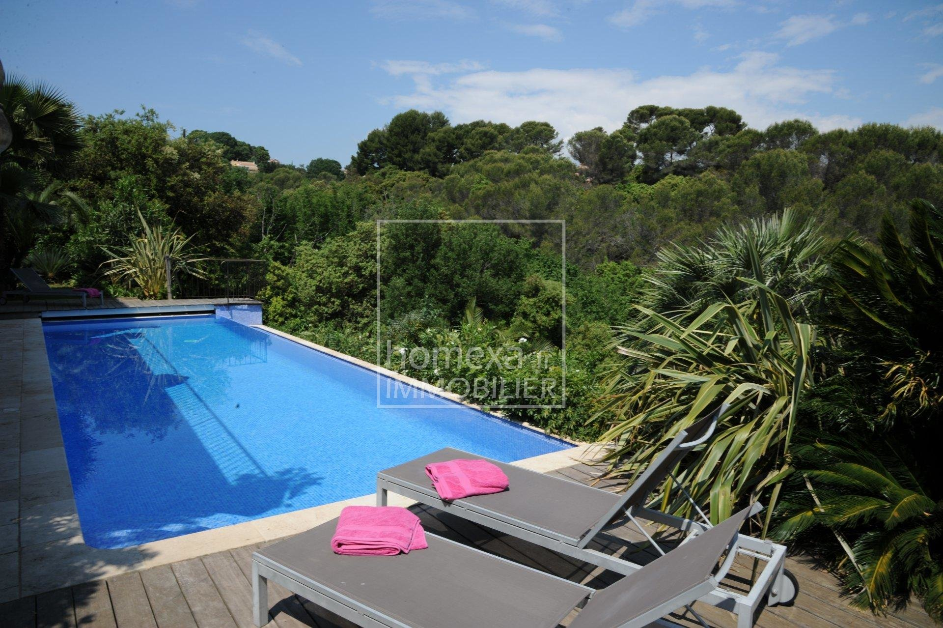 Location villa avec piscine Antibes