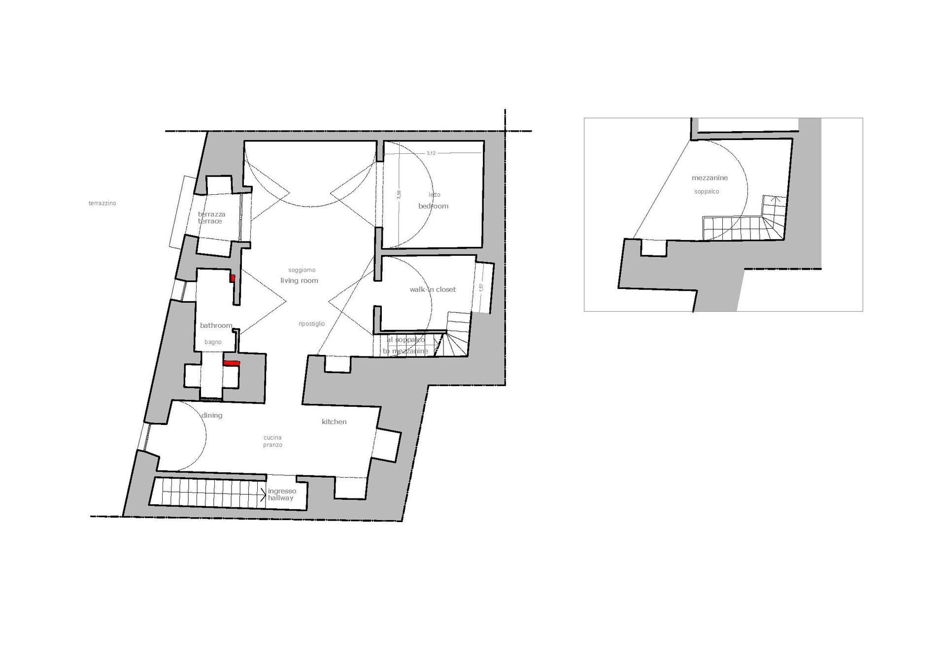 Appartamento elegantemente ristrutturato ed arredato