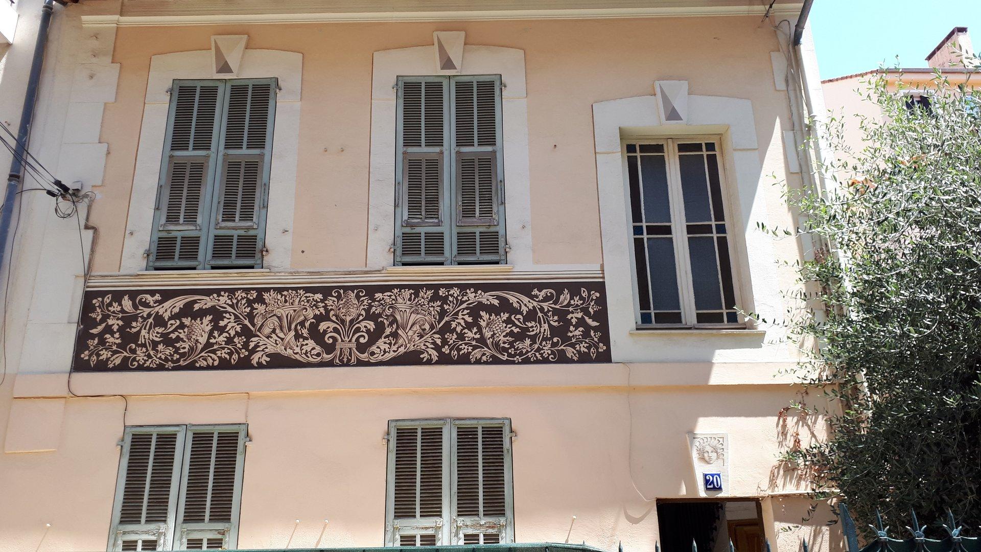 Location 3pièces Nice Nord GORBELLA