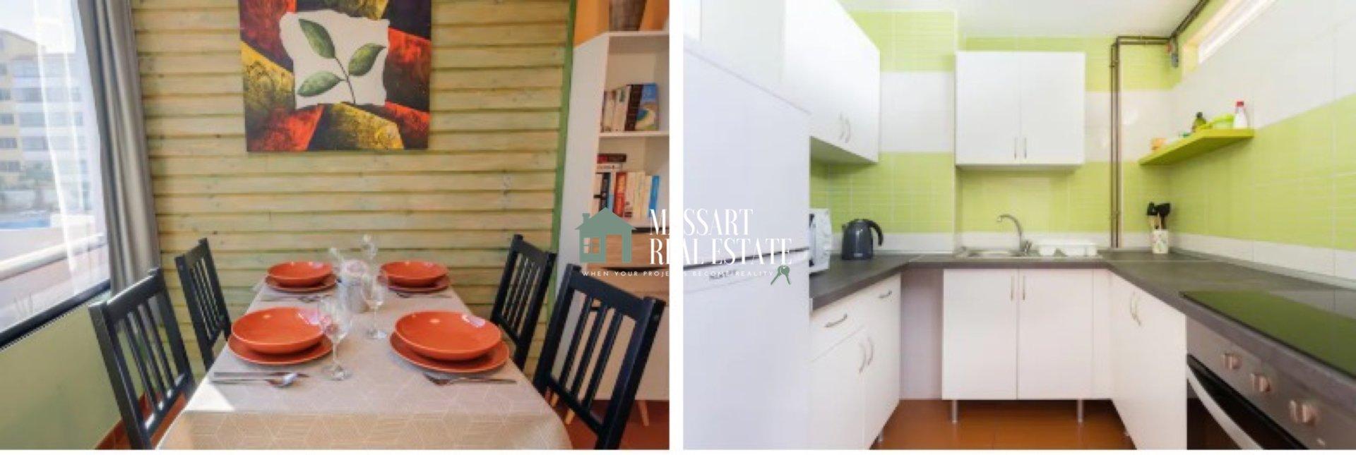 Te koop in Costa del Silencio, volledig gerenoveerd en gemeubileerd appartement van 47 m2 ... ideaal als investering ... het heeft een vakantievergunning!