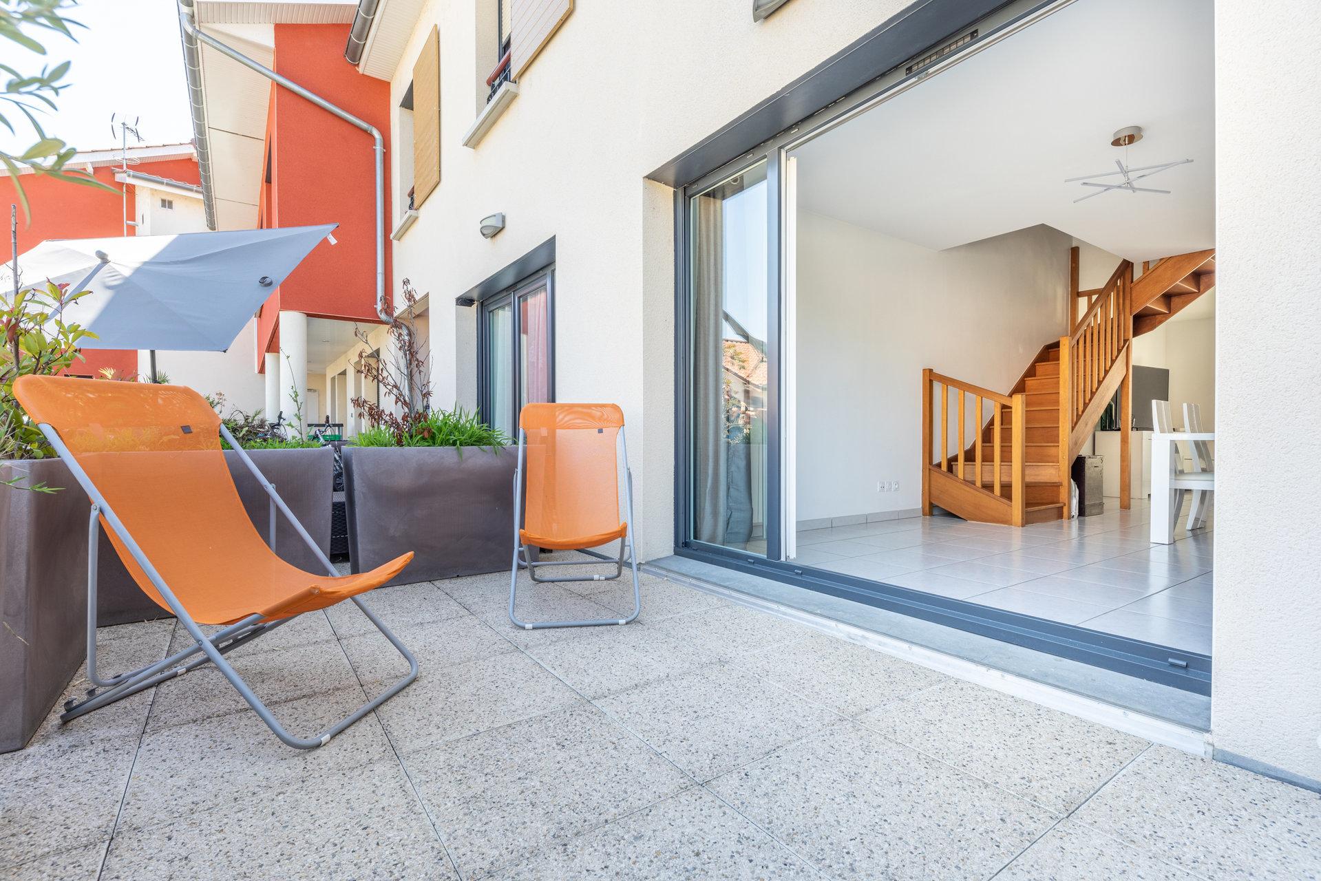 Centre Jassans-Riottier - Calme - Duplex