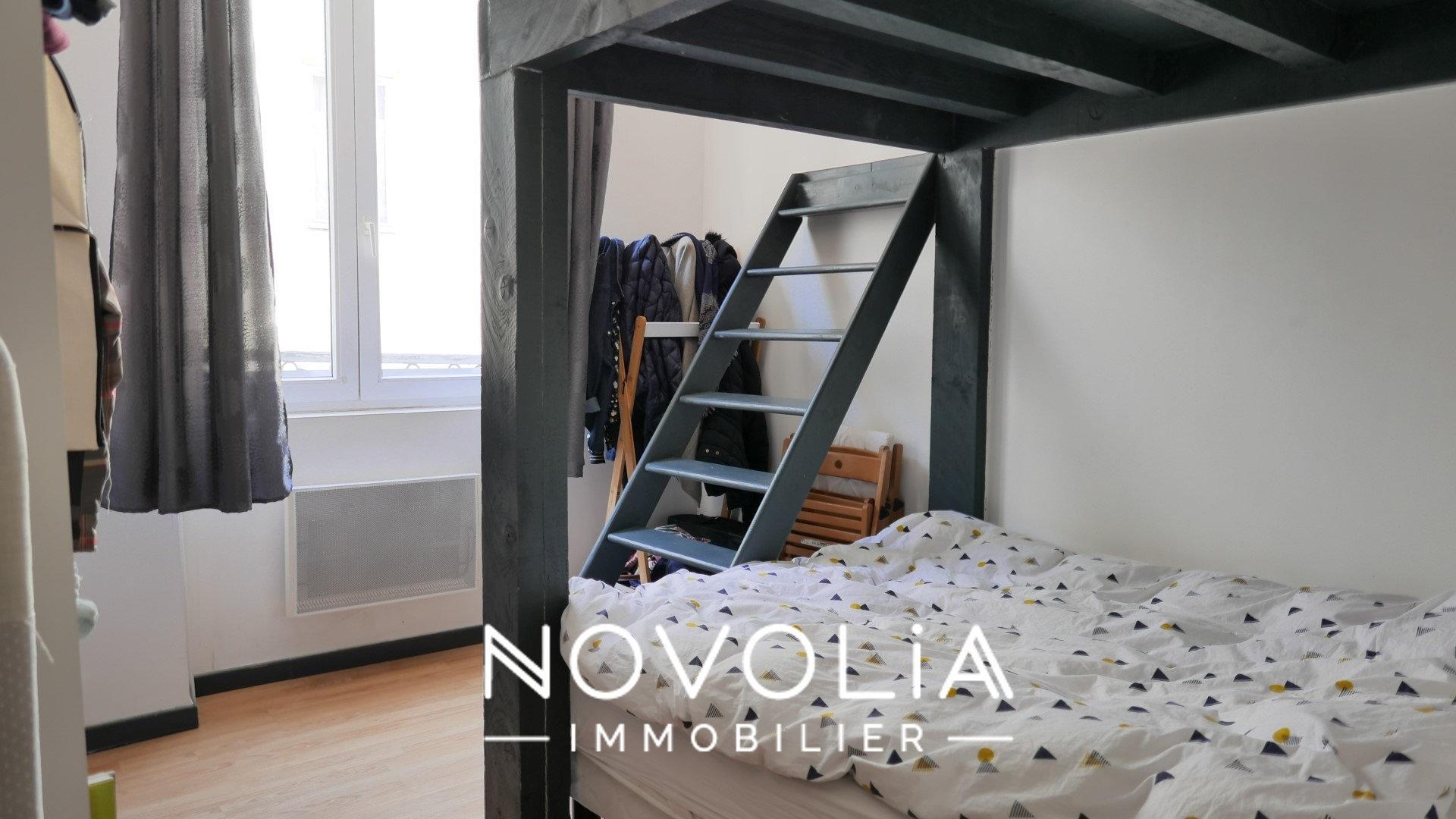 Achat Appartement, Surface de 32.74 m²/ Total carrez : 32 m², 2 pièces, Lyon 3ème (69003)