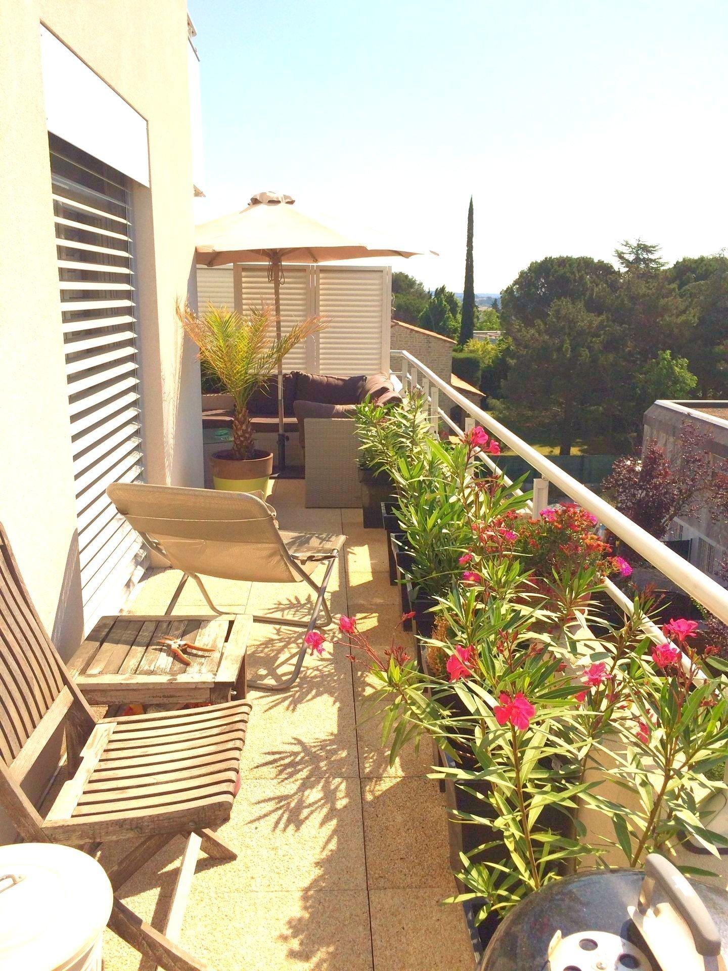 Appartement duplex sur toit