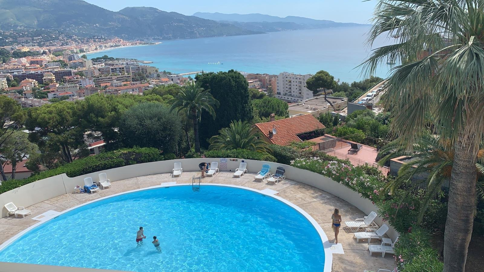 Sale apartment sea view - roquebrune cap martin