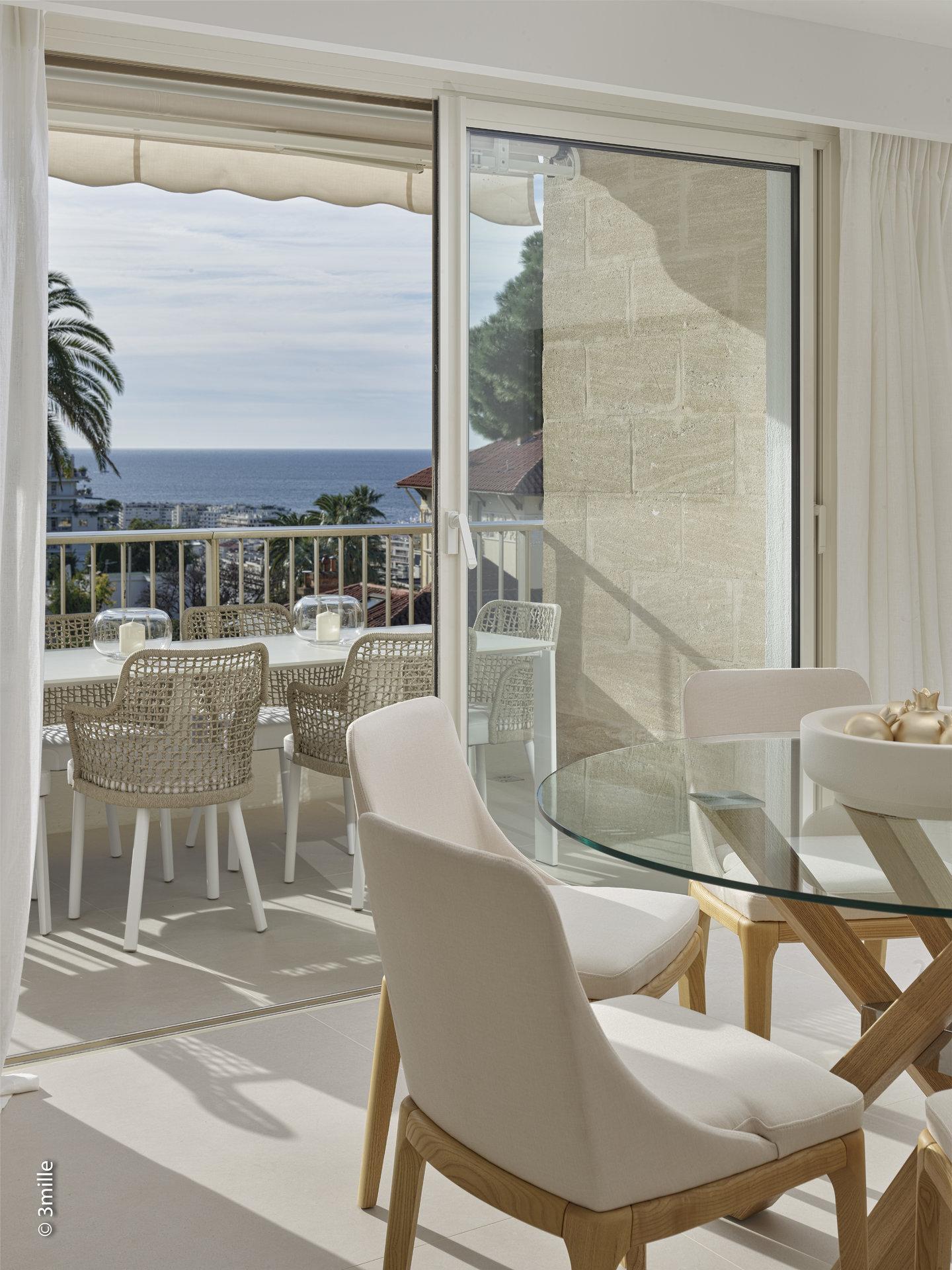 Cannes Californie 4P renovated sea view