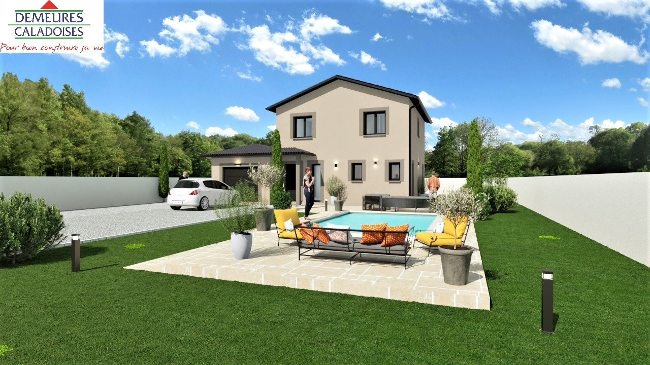 Villa 5 CH neuve avec Jardin