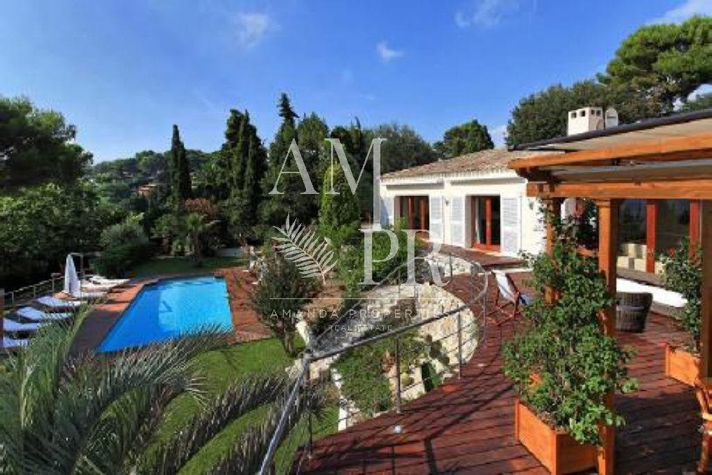 CONTEMPORARY VILLA ON TOP OF THE HILLS IN A VERY RESIDENTIAL AREA