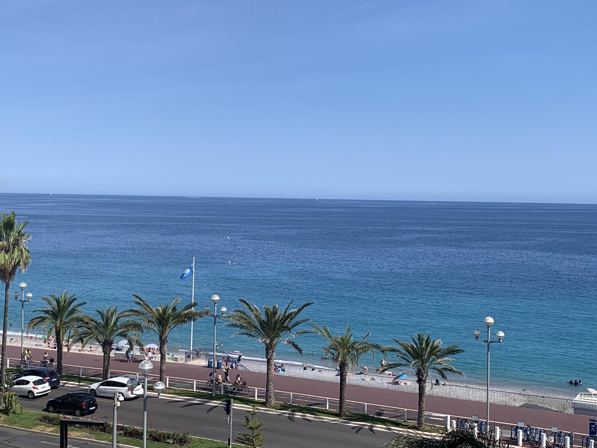 Studio  vue mer  Promenade des Anglais