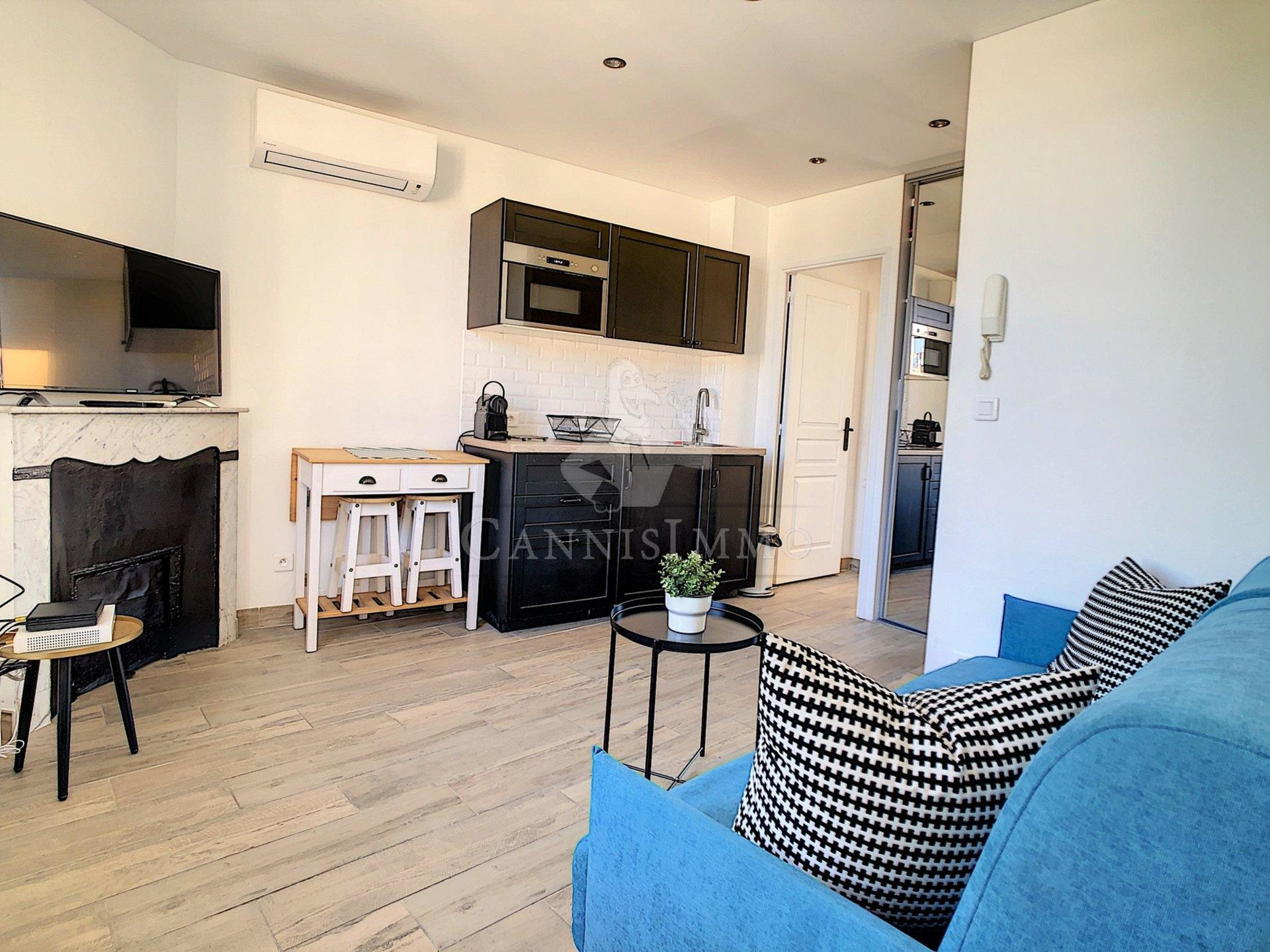 APPARTEMENT 2P CANNES SUQUET