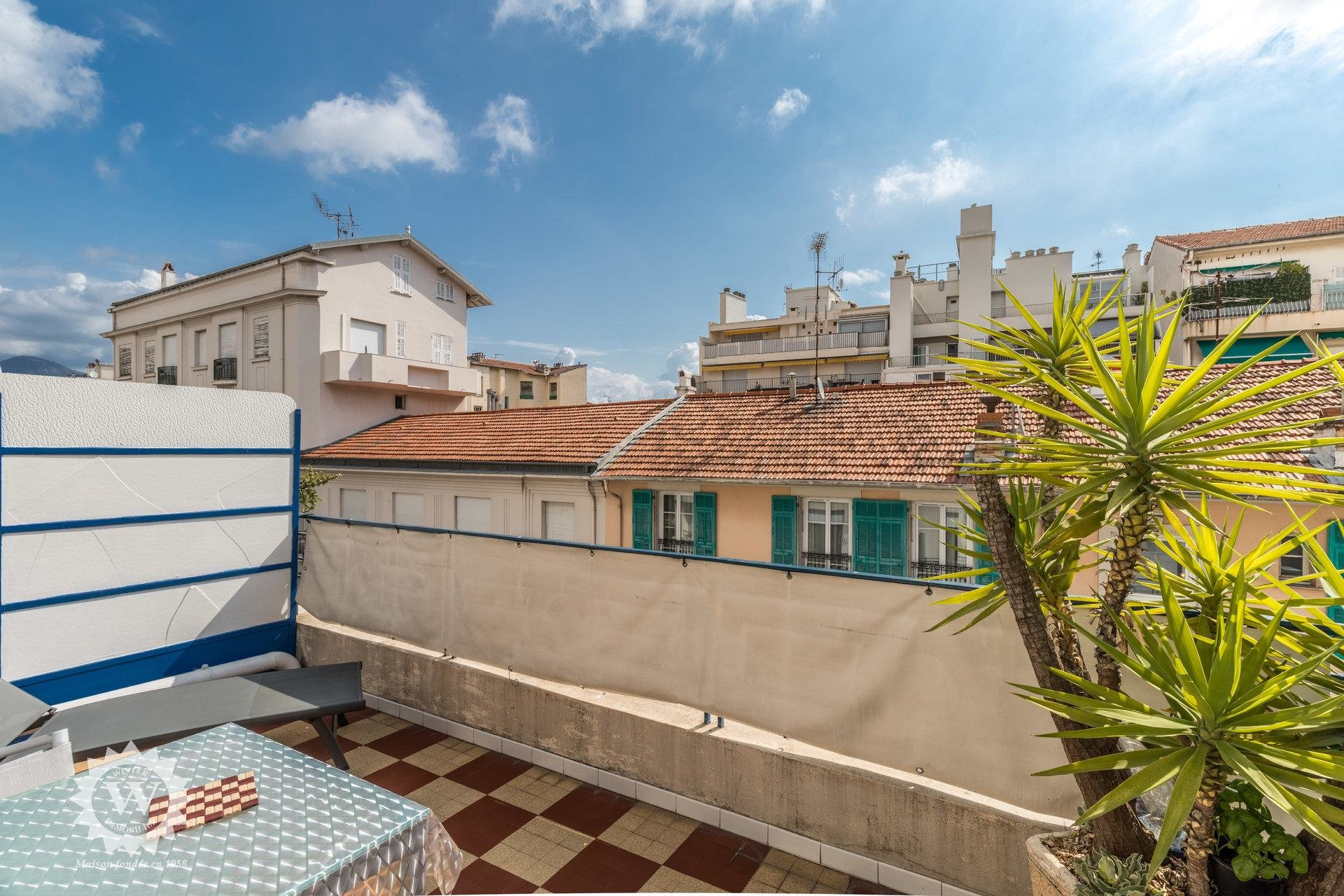 Nice Flower Square (andrioli) - Studio with large terrasse